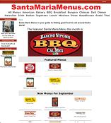 SantaMariaMenus.com